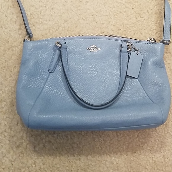 Coach Handbags - Final Price⚡️Mini Kelsey Cornflower Coach Purse e75a2aa2484cb